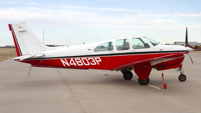 N4803P - Beechcraft 35-C33A Bonanza - Private