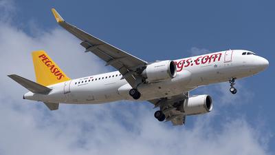 TC-NBK - Airbus A320-251N - Pegasus Airlines