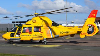 A picture of OONHX - Airbus Helicopters AS365 Dauphin - Noordzee Helikopters Vlaanderen - © R. Eikelenboom