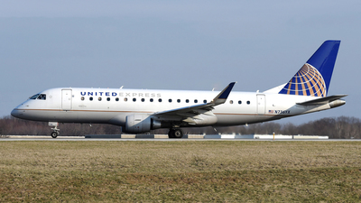 A picture of N736YX - Embraer E175LR - United Airlines - © DJ Reed - OPShots Photo Team