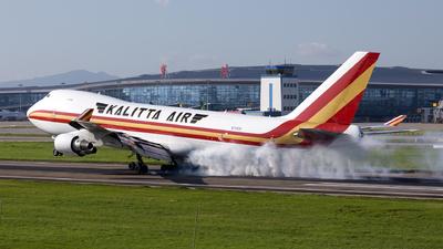 A picture of N715CK - Boeing 7474B5F - Kalitta Air - © XPHNGB