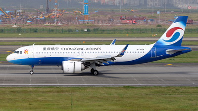 A picture of B302K - Airbus A320251N - Chongqing Airlines - © BCG554