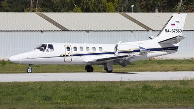 A picture of RA67560 - Cessna 550 Citation Bravo - [5501038] - © Alex
