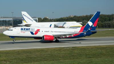 UR-AZF - Boeing 737-89L - Azur Air Ukraine