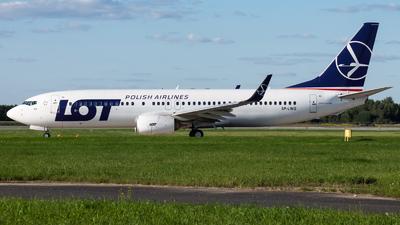 SP-LWG - Boeing 737-86N - LOT Polish Airlines