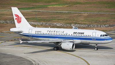 B-6047 - Airbus A319-115 - Air China