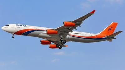 YA-KMU - Airbus A340-313 - Kam Air
