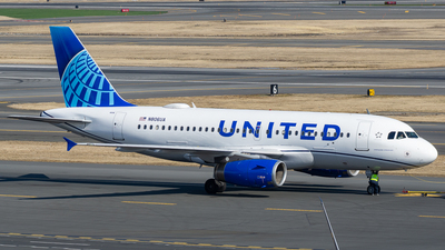A picture of N806UA - Airbus A319131 - United Airlines - © ne.planespotter