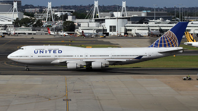 N180UA - Boeing 747-422 - United Airlines