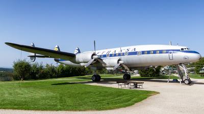 D-ALIN - Lockheed L-1049G Super Constallation - Lufthansa