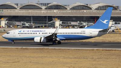 A picture of B5602 - Boeing 73786N - Xiamen Air - © SEN BAI