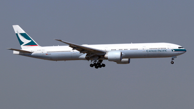 B-KQZ - Boeing 777-367ER - Cathay Pacific Airways
