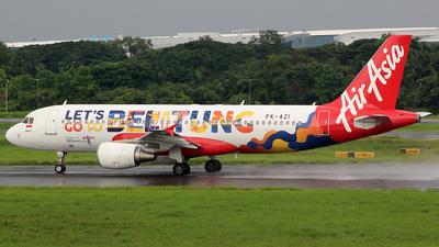 PK-AZI - Airbus A320-216 - Indonesia AirAsia
