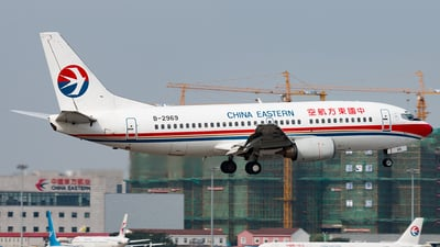 B-2969 - Boeing 737-36R - China Eastern Airlines
