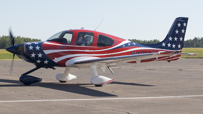 N76LK - Cirrus SR22T - Private