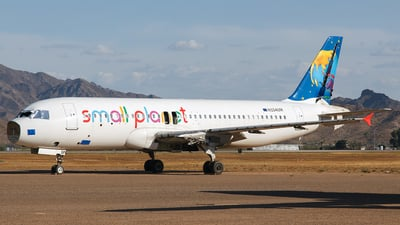 N154UM - Airbus A320-214 - Small Planet Airlines Germany