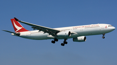 B-LBK - Airbus A330-343 - Cathay Dragon