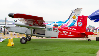 HB-FBK - Pilatus PC-6/B2-H4 Turbo Porter - Asian Express Aviation