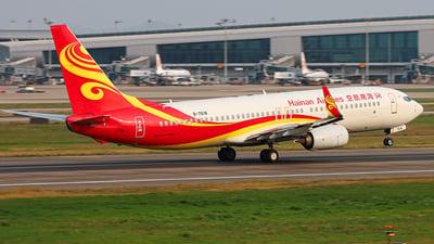 B-7618 - Boeing 737-84P - Hainan Airlines