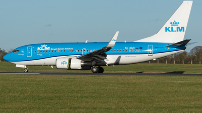 A picture of PHBGN - Boeing 7377K2 - KLM - © Jonathan L