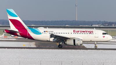 D-AGWA - Airbus A319-132 - Eurowings