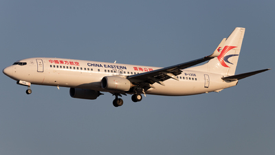 A picture of B1306 - Boeing 73789P - China Eastern Airlines - © SakaiWakana