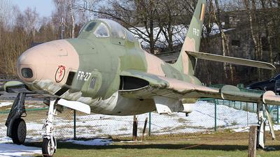 FR-27 - Republic RF-84F Thunderflash - Belgium - Air Force
