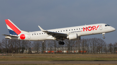 F-HBLI - Embraer 190-100LR - HOP! for Air France