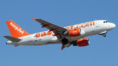 G-EZED - Airbus A319-111 - easyJet