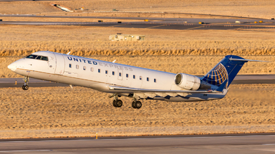 A picture of N917SW - Mitsubishi CRJ200LR - United Airlines - © HA-KLS