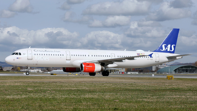 A picture of OYKBE - Airbus A321232 - SAS - © Karl Dittlbacher