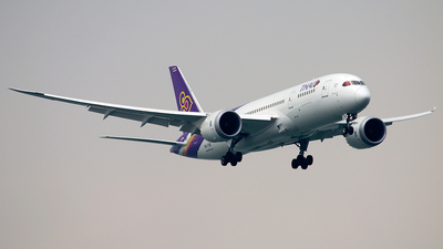 HS-TQF - Boeing 787-8 Dreamliner - Thai Airways International