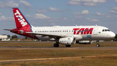 PT-TMA - Airbus A319-132 - TAM Linhas Aéreas