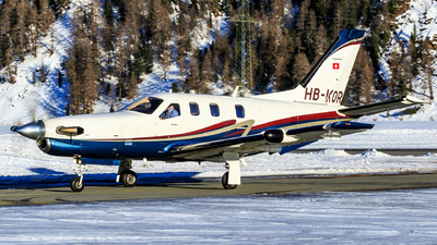 A picture of HBKOR - Socata TBM850 - [349] - © Lorenzo Varin - AirTeamImages