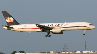 A picture of CFKAJ - Boeing 75723A(PCF) - Cargojet Airways - © Donald  E Moore