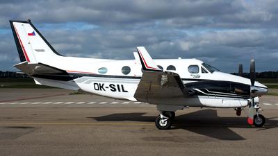 A picture of OKSIL - Beechcraft C90B King Air - [LJ1370] - © Dutch
