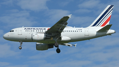 F-GUGN - Airbus A318-111 - Air France