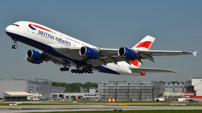 F-WWSI - Airbus A380-841 - British Airways