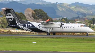 A picture of ZKNET - De Havilland Canada Dash 8300 - Air New Zealand - © Josh Avery