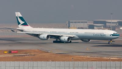 B-HQB - Airbus A340-642 - Cathay Pacific Airways
