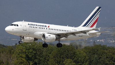 A picture of FGUGH - Airbus A318111 - Air France - © Dranob