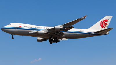 A picture of B2409 - Boeing 747412F(SCD) - Air China Cargo - © AGUIJUN-Lei