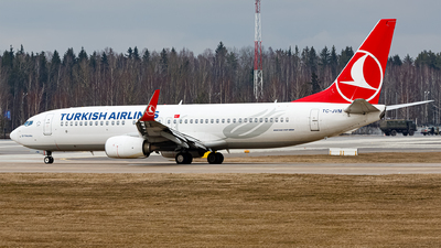 A picture of TCJVM - Boeing 7378F2 - Turkish Airlines - © Sots Aliaksandr