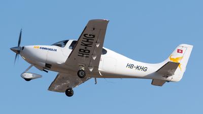HB-KHG - Cirrus SR22 - Air Corviglia