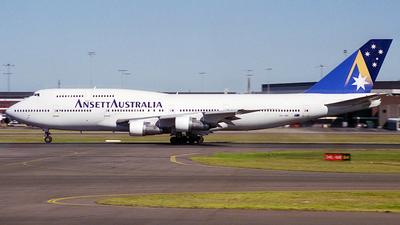VH-INH - Boeing 747-312 - Ansett Australia