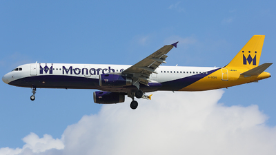 G-OZBG - Airbus A321-231 - Monarch Airlines