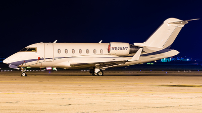 N858MY - Bombardier CL-600-2B16 Challenger 650 - Private