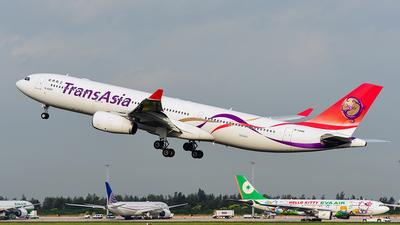 B-22105 - Airbus A330-343 - TransAsia Airways