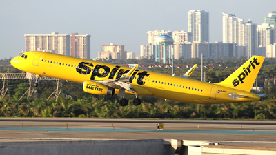 N684NK - Airbus A321-231 - Spirit Airlines