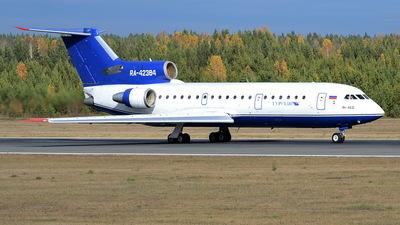 RA-42384 - Yakovlev Yak-42D - Turuhan Avia